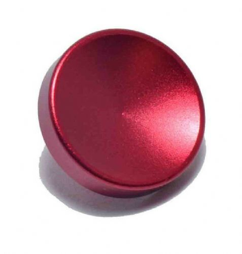 High Quality Shutter Button Soft Release Metal Concave Red